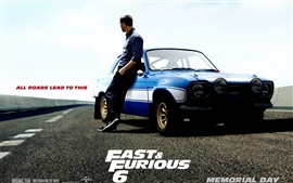 Preview wallpaper Paul Walker in Fast and Furious 6