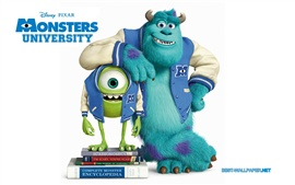 Preview wallpaper Pixar cartoon, Monsters University