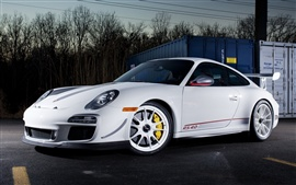 Porsche 911 GT3 RS 4.0 color blanco