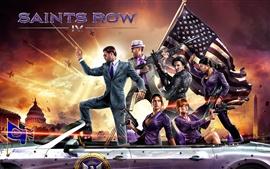 Aperçu fond d'écran Saints Row 4