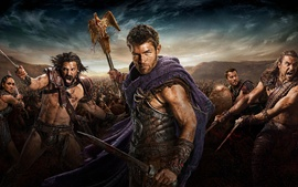 Preview wallpaper Spartacus: War of the Damned HD