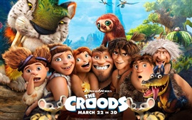 Preview wallpaper The Croods HD movie