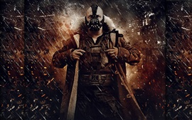 Preview wallpaper The Dark Knight Rises, bad man
