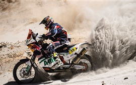 Preview wallpaper The passion of the cross-country motorcycle race
