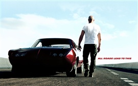 Preview wallpaper Vin Diesel in Fast and Furious 6