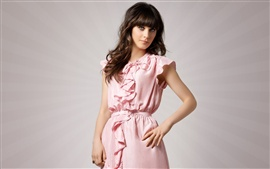 Preview wallpaper Zooey Deschanel 01