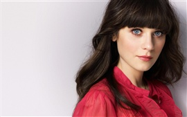 Preview wallpaper Zooey Deschanel 02
