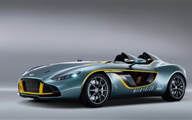 Preview wallpaper 2013 Aston Martin CC100 Speedster concept supercar