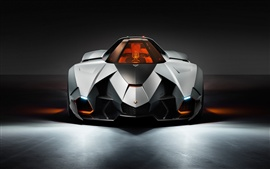Preview wallpaper 2013 Lamborghini Egoista supercar