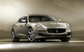 Preview wallpaper 2013 Maserati Quattroporte car