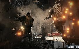 Aperçu fond d'écran Battlefield 4, fusillade