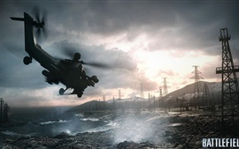 Preview wallpaper Battlefield 4 helicopter