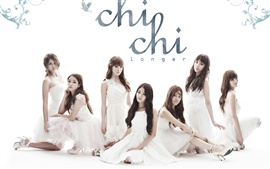 Preview wallpaper CHI CHI Korean music girl group 01