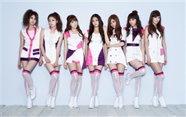 Preview wallpaper CHI CHI Korean music girl group 04