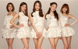 Preview wallpaper CHI CHI Korean music girl group 05