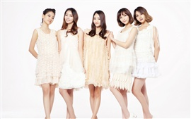 Preview wallpaper CHI CHI Korean music girl group 07