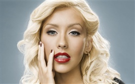 Preview wallpaper Christina Aguilera 16