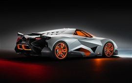 Preview wallpaper Lamborghini Egoista 2013 supercar side view