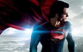 Preview wallpaper Man of Steel, superhero