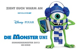Preview wallpaper Monsters University, Strange one-eyed Mike