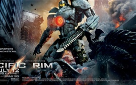 Preview wallpaper Pacific Rim, the robot hero