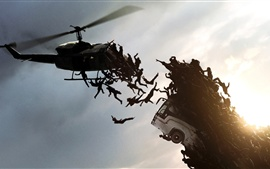 Preview wallpaper 2013 movie, World War Z