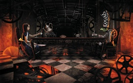 Preview wallpaper Alice: Madness Returns, mad tea party