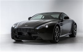 Aston Martin V8 Vantage S SP10 black Wallpapers Pictures Photos Images