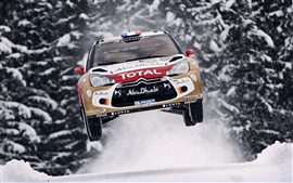 Preview wallpaper Citroen DS3 car in the race