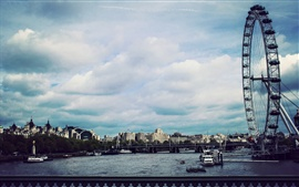 Preview wallpaper London Eye