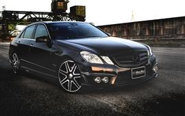 Preview wallpaper Mercedes-Benz E-Class Black auto