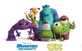 Monsters University, compañeros de fotos