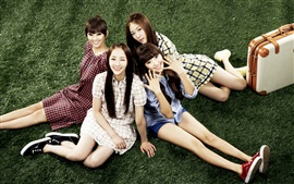 Preview wallpaper SISTAR, asia, korean, music girls