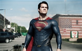 Preview wallpaper Superman movie 2013, Man of Steel