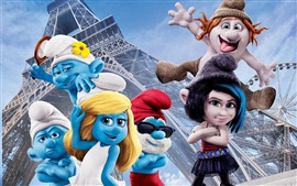 Preview wallpaper The Smurfs 2 movie 2013