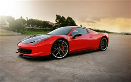 Preview wallpaper 2013 Ferrari 458 Italia Spider Elegante supercar