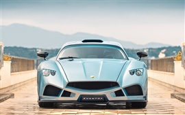 Preview wallpaper 2013 Mazzanti Evantra N.00 supercar