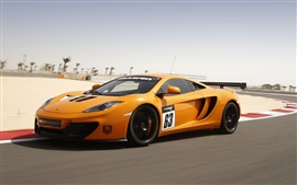 Preview wallpaper 2013 McLaren 12C GT Sprint supercar