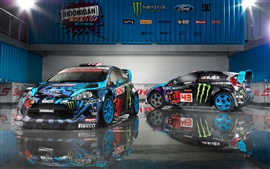 Preview wallpaper Ford Fiesta 2013