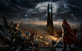 Preview wallpaper Lord of the Rings Online: Rise of Isengard