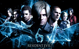 Preview wallpaper Resident Evil 6 PC game