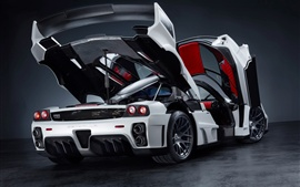 Preview wallpaper Ferrari Enzo Gemballa MIG-U1 supercar side views