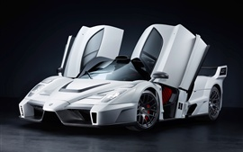 Preview wallpaper Ferrari Enzo Gemballa MIG-U1 supercar
