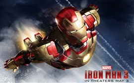Preview wallpaper Iron Man 3, 2013 movie HD