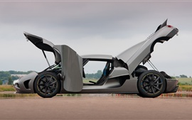 Preview wallpaper Koenigsegg Agera supercar side view