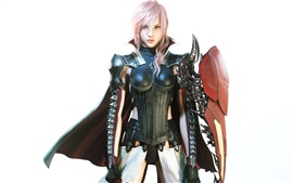 Lightning Returns: Final Fantasy XIII, guerrero de la muchacha