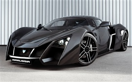 Preview wallpaper Marussia B2 black supercar
