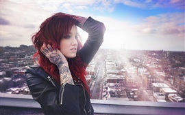 Tatuagens Red hair girl