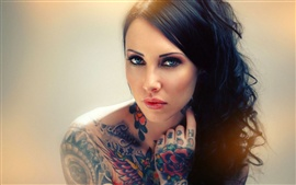 Preview wallpaper Tattoos girl