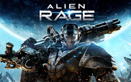 Preview wallpaper Alien Rage
